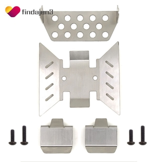 COD Metal Plate + Chassis Armor Set for AXIAL SCX10 III Accessaries