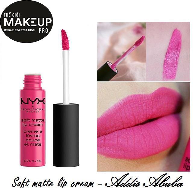Son kem NYX Soft Matte Lip Cream Addis Ababa SMLC07