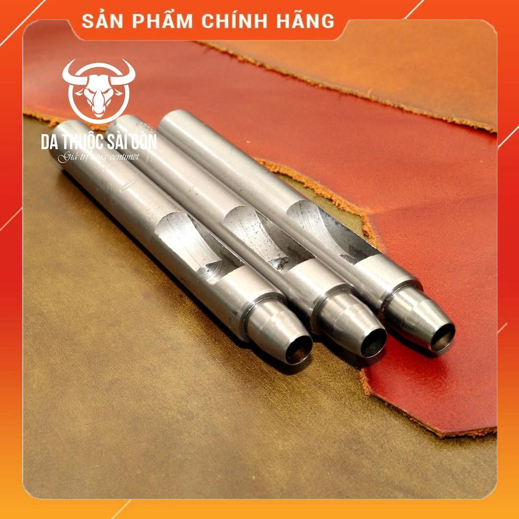 Bộ Đục Lỗ Tròn Cao Cấp - Có 38 Size (Từ 1mm đến 38mm) - Da Thuộc Sài Gòn