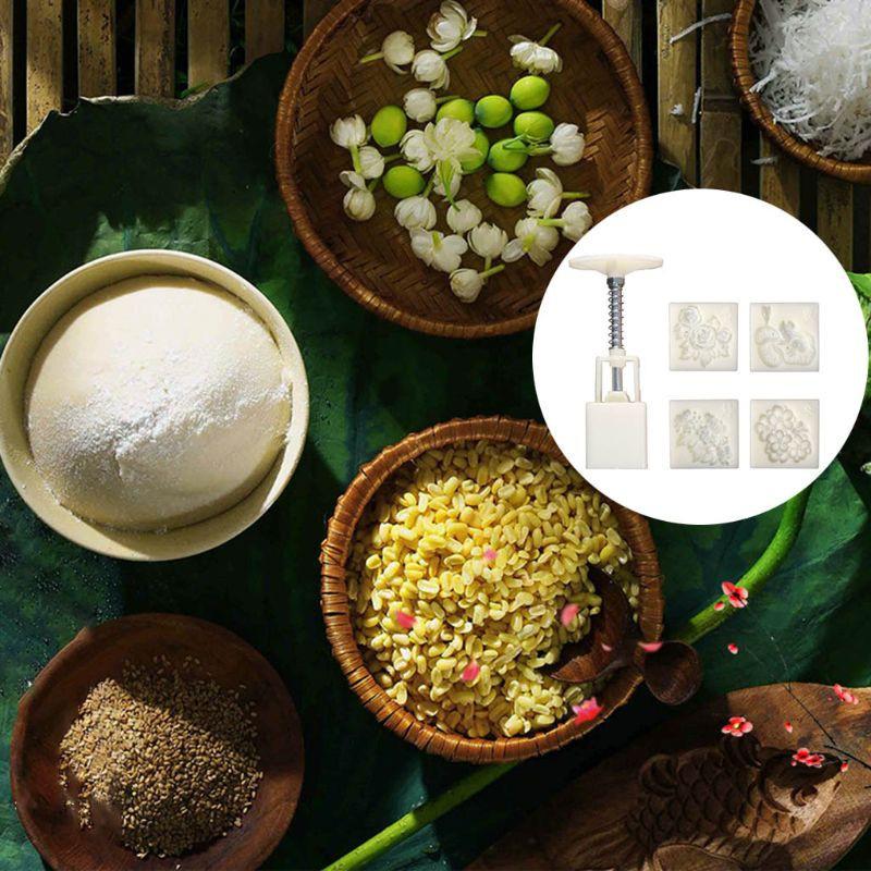 Khuôn Làm Bánh Trung Thu / Bánh Trung Thu / Bánh Trung Thu / Bánh Trung Thu 50g Diy