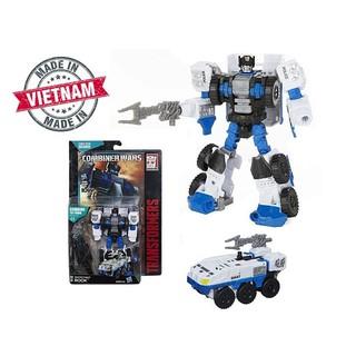 Robot Transformers ROOK ráp thành xe đặc nhiệm