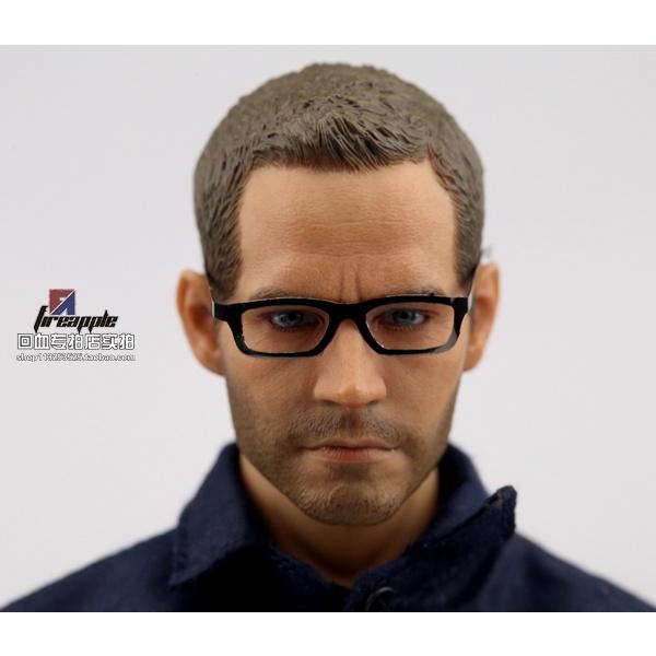 🌟Phụ kiện mô hình người lính tỉ lệ 1:6🌟 Mắt kính quân đội gọng kim loại mềm gấp gọn AAA 1 / 6