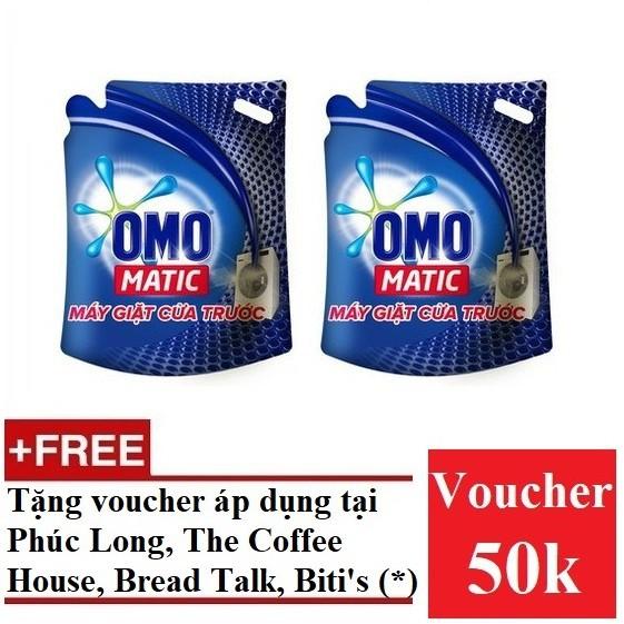 [QUÀ] Bộ 2 túi nước giặt Omo Matic máy giặt cửa trước 2.7kg (MSP 67225282 x2)+ Tặng voucher 50k(*) - 3239346 , 532890164 , 322_532890164 , 314000 , QUA-Bo-2-tui-nuoc-giat-Omo-Matic-may-giat-cua-truoc-2.7kg-MSP-67225282-x2-Tang-voucher-50k-322_532890164 , shopee.vn , [QUÀ] Bộ 2 túi nước giặt Omo Matic máy giặt cửa trước 2.7kg (MSP 67225282 x2)+ Tặng