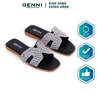 Dép thời trang đính đá GE231 - Genni