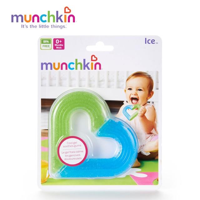 Gặm nướu gel hình trái tim Munchkin Mỹ chính hãng - 2607729 , 865008347 , 322_865008347 , 139000 , Gam-nuou-gel-hinh-trai-tim-Munchkin-My-chinh-hang-322_865008347 , shopee.vn , Gặm nướu gel hình trái tim Munchkin Mỹ chính hãng