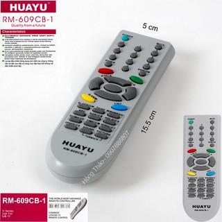 Remote Tivi Huayu for LG RM 609CB 1