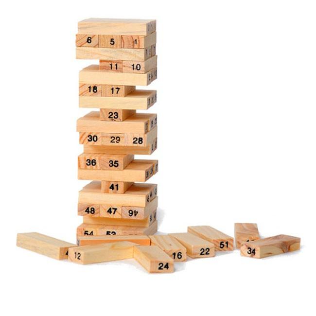 Bộ đồ chơi rút gỗ giúp tăng sự kiên trì - KazukoS