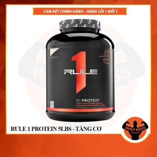 Sữa tăng cơ RULE 1 Protein 5Lbs (2.3 KG) – Chính hãng 100%