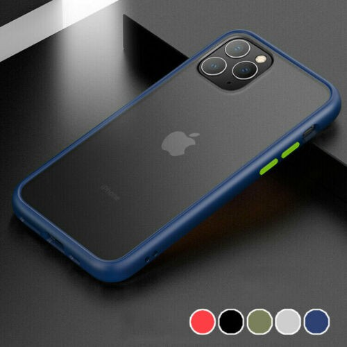 For Apple iPhone 11 Pro Max iP11 Pro IP11 Bumper Case Clear Shockproof Slim Hybrid Case