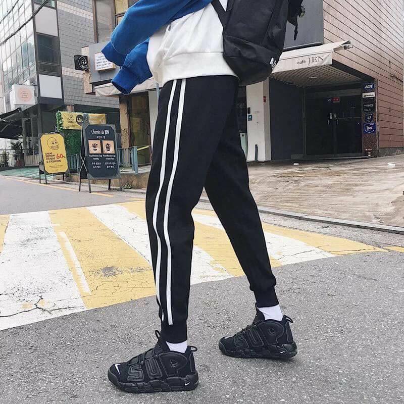 [GIÁ HỦY DIỆT] Quần Jogger 2 line Unisex Ulzzang Streetwear Streetstyle - Joger 2 sọc cực chất