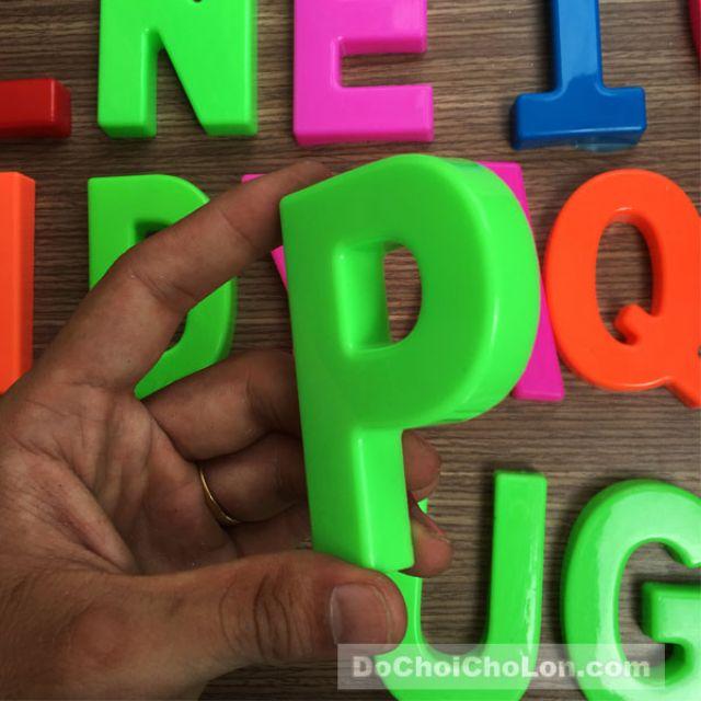 Bộ chữ cái và chữ số nhựa chợ lớn