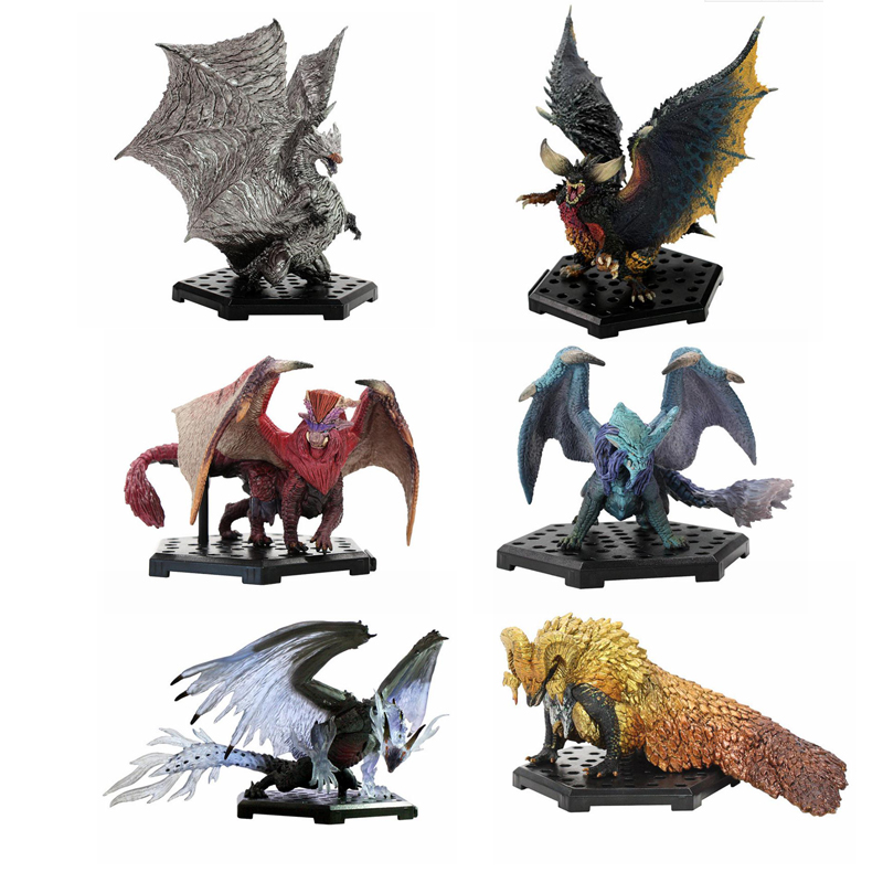 Monster Hunter World Game PVC Models Hot Dragon Action Figure Rathalos Gore Magala Decoration Toy Collection Gifts