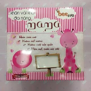 Combo 3 hộp khăn khô đa năng Mama ( hộp 180 tờ)