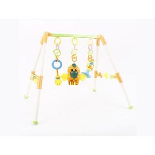 6F[P6068] Bộ đồ chơi giá đỡ treo cho em bé tập nhận biết màu sắc chơi đùa nâng cao trí thông minh HD51