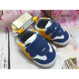 Giày tập đi bé trai phong cách 3-18m thumbnail