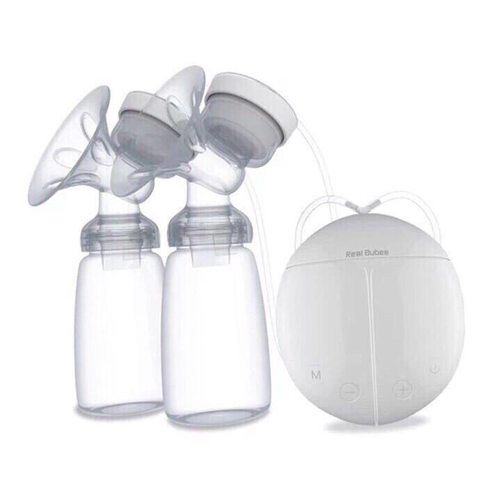 Máy hút sữa điện đôi Real Bubee ( Có chế độ massa kích sữa,điều chỉnh tăng giảm áp lực linh hoạt) - 2692709 , 1281822732 , 322_1281822732 , 400000 , May-hut-sua-dien-doi-Real-Bubee-Co-che-do-massa-kich-suadieu-chinh-tang-giam-ap-luc-linh-hoat-322_1281822732 , shopee.vn , Máy hút sữa điện đôi Real Bubee ( Có chế độ massa kích sữa,điều chỉnh tăng giả