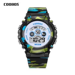 Đồng hồ trẻ em thể thao Coolbos cho bé trai và bé gái mẫu mới