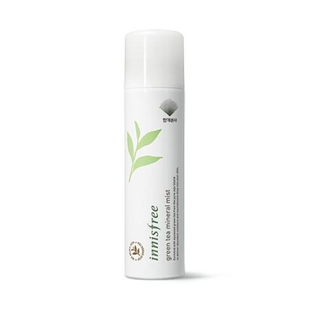 Xịt Khoáng Trà Xanh Innisfree Green Tea Mineral Mist 120ml về hàng SALE 50% (Bill mua ảnh bên cạnh)