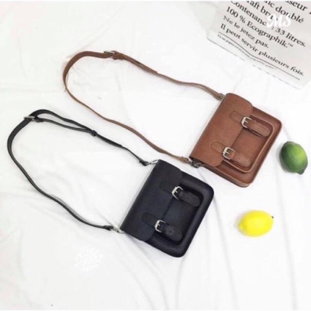 Túi xách nữ hộp đeo chéo vintage HADA 2020 DC63