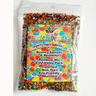 hạt nở làm slime – nguyên liệu trang trí – hạt nở gói 200gram mã NHI79