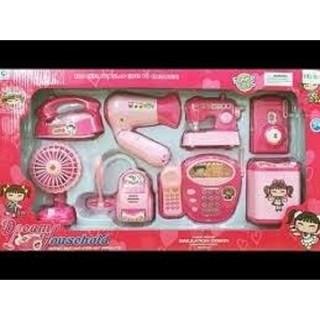 Bộ đồ chơi nấu ăn 8 món có đèn nhạc