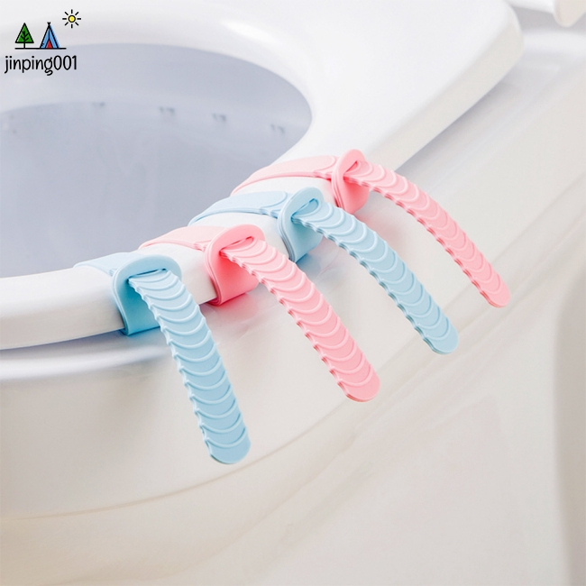 Toilet Seat Anti Dirty Silicone Lifter Handle for Bathroom Supplies