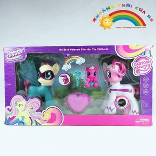 Đồ Chơi Trẻ Em Nhân Vật Pony Cartoon Horse 21016 KB1019 [ĐỒ CHƠI TRÍ TUỆ]