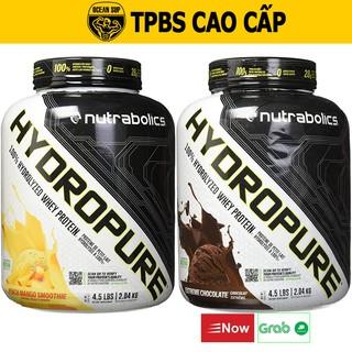 Whey Protein HydroPure Nutrabonics 100% Thủy Phân Tăng Cơ Giảm Mỡ Hộp 2.04kg