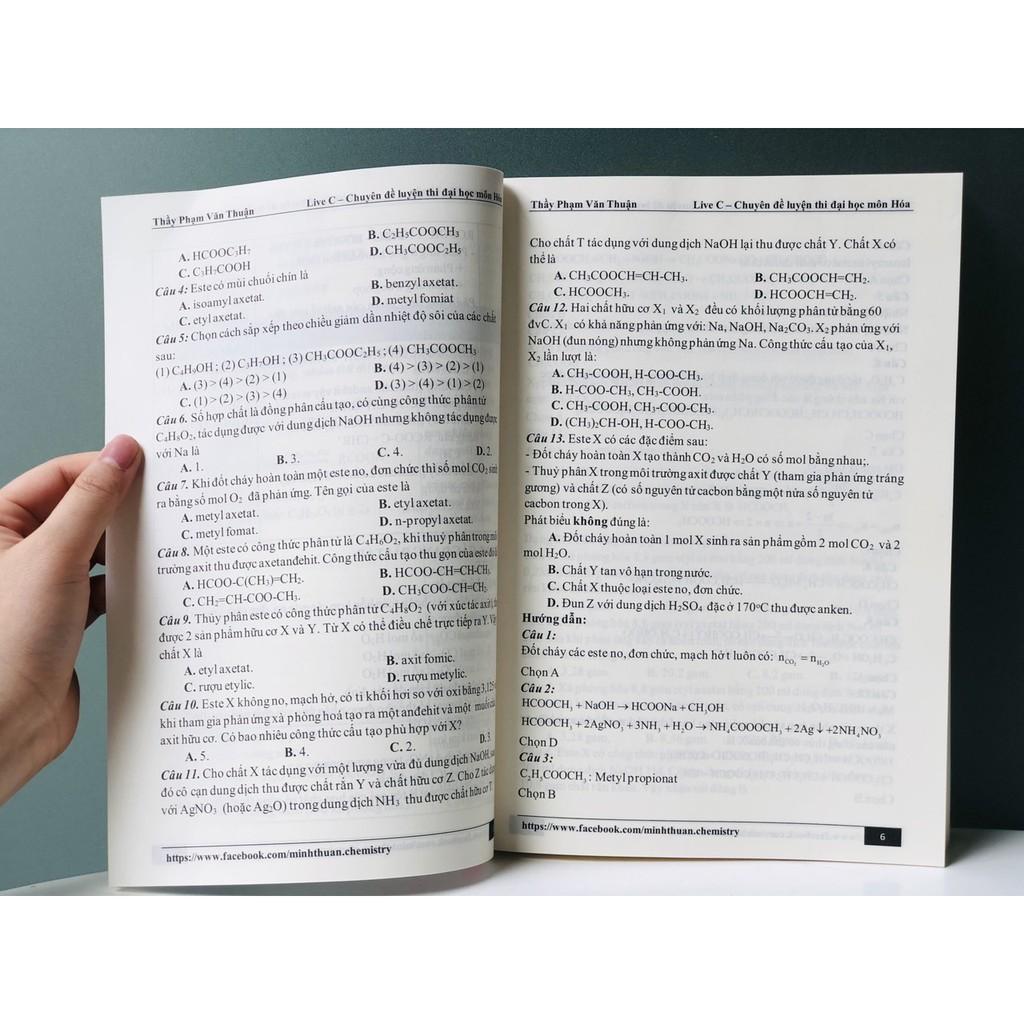 Sách: Chuyên đề luyện thi thpt môn Hóa - Luyện thi Hóa tham khảo