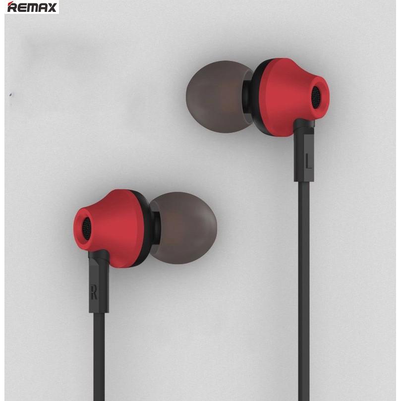 Tai nghe nhét tai Remax RM-610D (Đỏ)