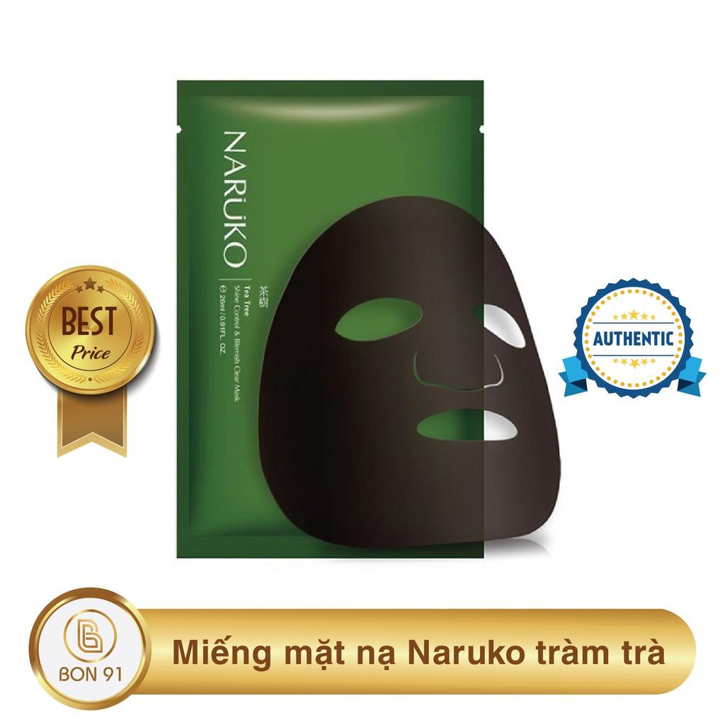 (Bản Đài) Miếng mặt nạ Naruko tràm trà