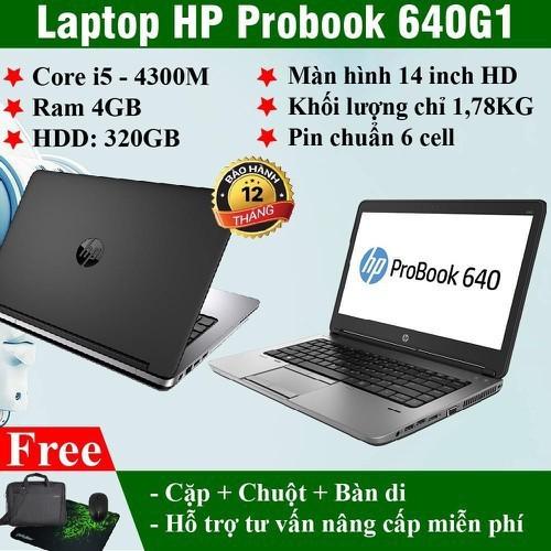 laptop HP 640G1 core I5 ram 4gb HHD320gb