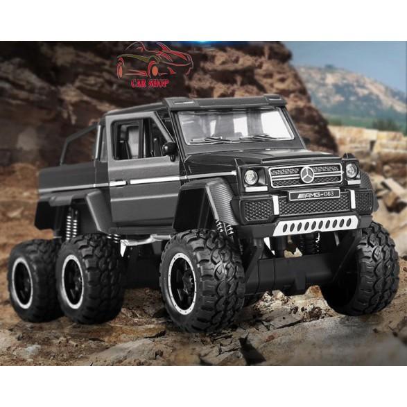 Xe mô hình hợp kim Mercedes-Benz G63 NEWAO ALLOY màu đen