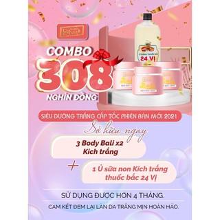 COMBO 308K DƯỠNG TRẮNG