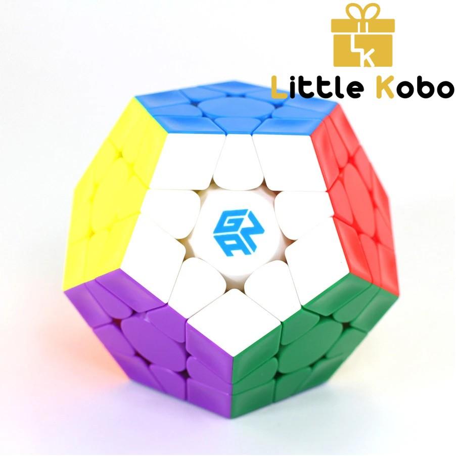 Rubik Gan Megaminx M Stickerless Rubik Megaminx Nam Châm Dòng Cao Cấp Flagship Rubik 12 Mặt