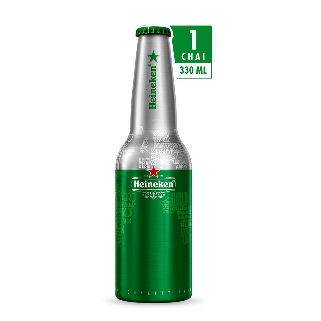 bia heineken chai nhôm hà lan - 1