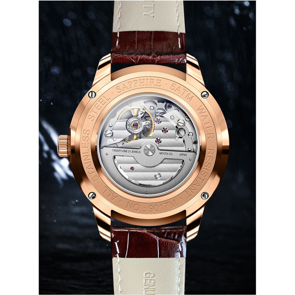 Đồng hồ nam Lobinni No.9017-3