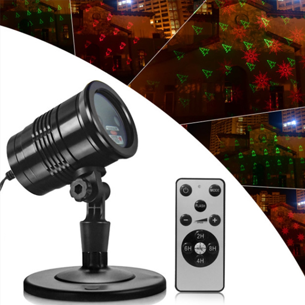 Projection Waterproof Outdoor Landscape Atmosphere Christmas Led Garden Stage Light