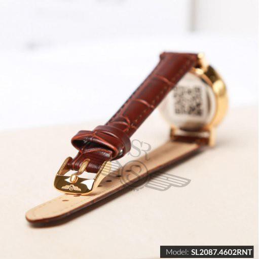 Đồng hồ đôi SRWATCH Mặt Kính Sapphire SRenata SR2087.4602RNT sang trọng trang nhã qu