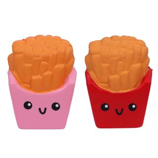YOUN* French Fries Scented Slow Rising Stress Relief Squeeze Hand Toy Jumbo Kids Gift