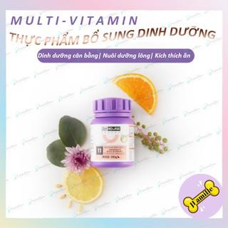 [DINH DƯỠNG BỔ SUNG]Vitamin Tổng Hợp Tăng Cường Sức Đề Kháng Cho Mèo, Viên Nhai Hỗ Trợ Tiêu Búi Lông. Hộp 200v. JFamille thumbnail