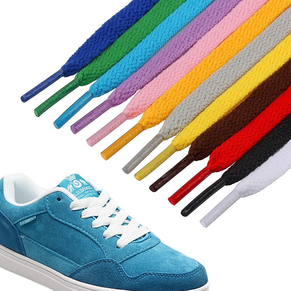 Dây giày trơn đủ màu (bán theo đôi)