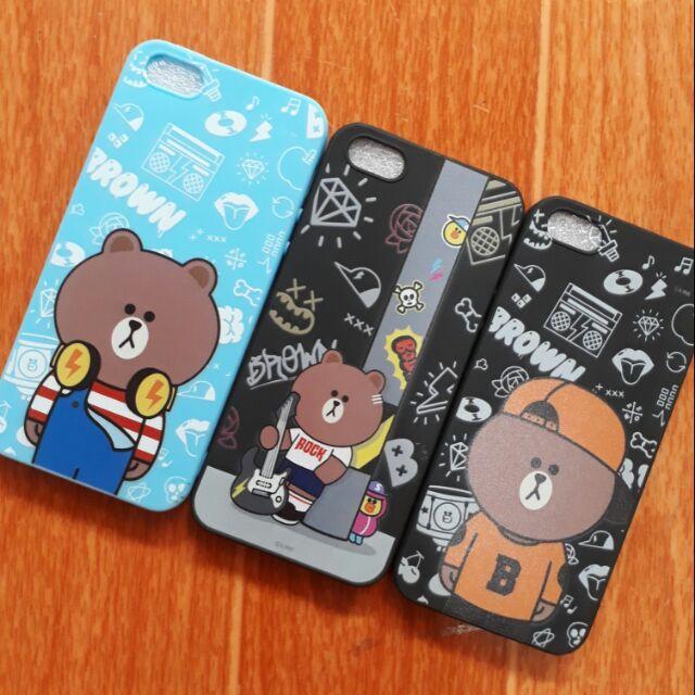Ốp lưng Iphone 5 dẻo màu in hình dễ thương