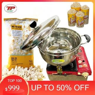 Nồi làm bắp rang bơ bằng bếp gas Tấn Phát – RBTP01