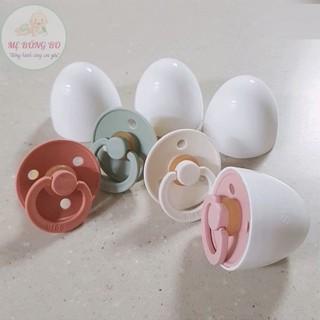 [CHÍNH HÃNG]Ti Giả Núm Ti Giả NHẬP KHẨU ĐAN MANH BIBS CLOUR Tặng Kèm Nắp Trứng thumbnail