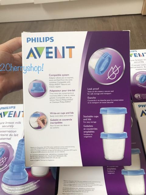 Cốc trữ sữa Philips Avent 180ml