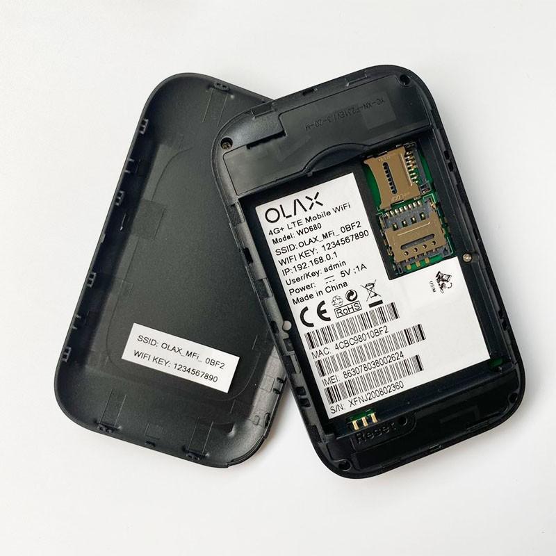 Bộ Phát Wifi 4G/3G OLAX WD680 Tốc Độ 150MP Chính hãng