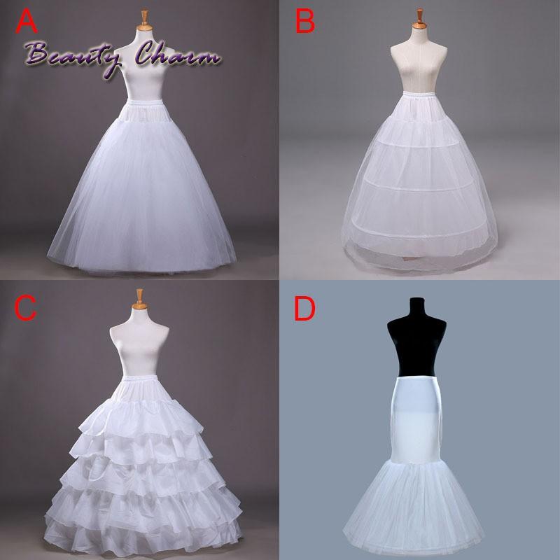 4016557418 - Chân váy lót bên trong cho cô dâu mặc trong tiệc cưới