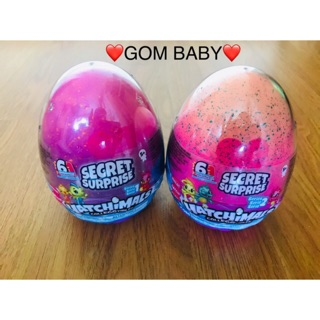 Combo 2 Trứng Hatchimals Secret Suprice (KM 1 Trứng mini trơn)