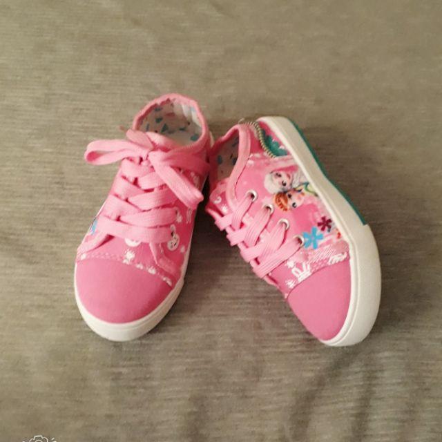 Giày bata thể thao cột dây cho bé gái
